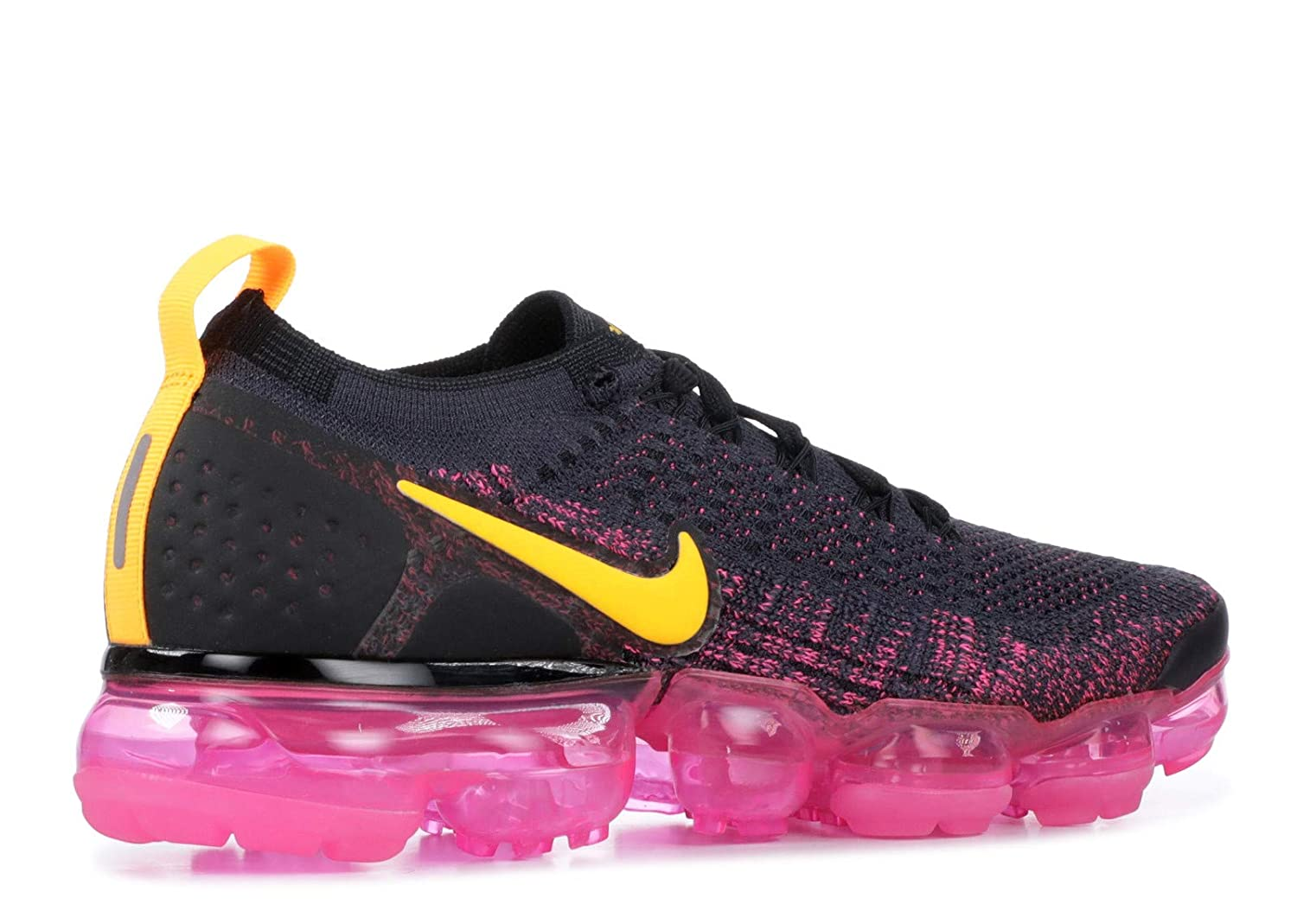 half off 4aa33 8e576 NIKE Women's Air Vapormax Flyknit 2 Running Shoes (6.5, Pink/Black)
