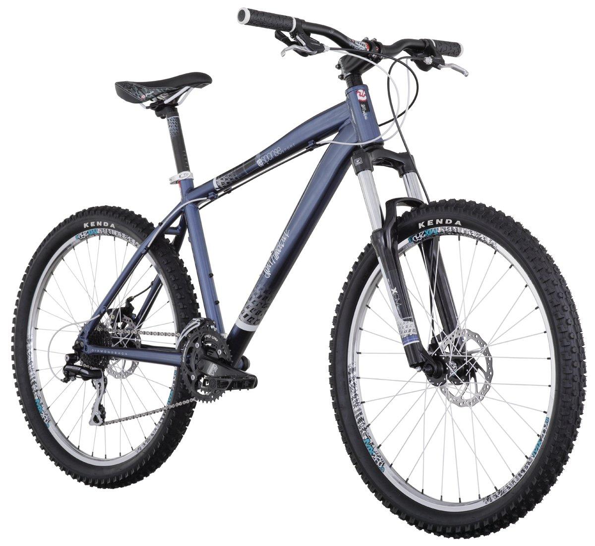 7660785b356 Amazon.com : Diamondback Response Sport Mountain Bike (26-Inch Wheels),  Matte Blue, X-Large/22-Inch : Sports & Outdoors