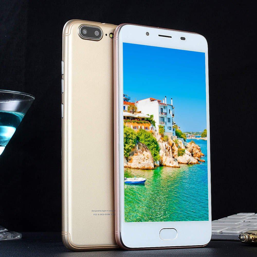 Matoen R11 Plus Android 5.1--5.5 inch Smartphone 512MB+4G - Standard - US Standard Plug WiFi Bluetooth Dual Smartphone (Gold) by Matoen (Image #3)