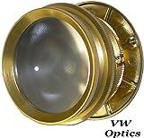 Wide Angle Peephole Door Viewer Doorscope Gold Metal  sc 1 st  Amazon.com & Ultra Wide Angle Door Viewer Ds238 - Brass Anodized - - Amazon.com