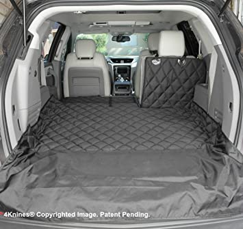 Groovy 4Knines Suv Cargo Liner For Fold Down Seats 60 40 Split And Armrest Pass Through Compatible Usa Based Company Bralicious Painted Fabric Chair Ideas Braliciousco