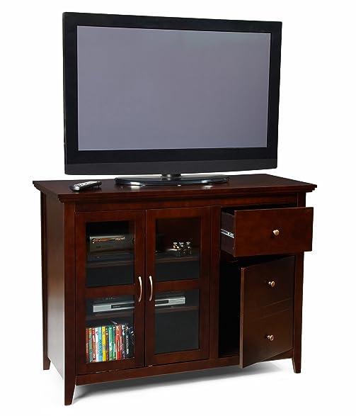 Amazon.com: Convenience Concepts Designs2Go Sierra Highboy TV ...