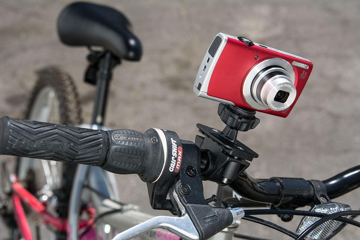 Arkon Camera Bike Motorcycle Handlebar Mount Holder for Sony Samsung Panasonic Nikon Cameras