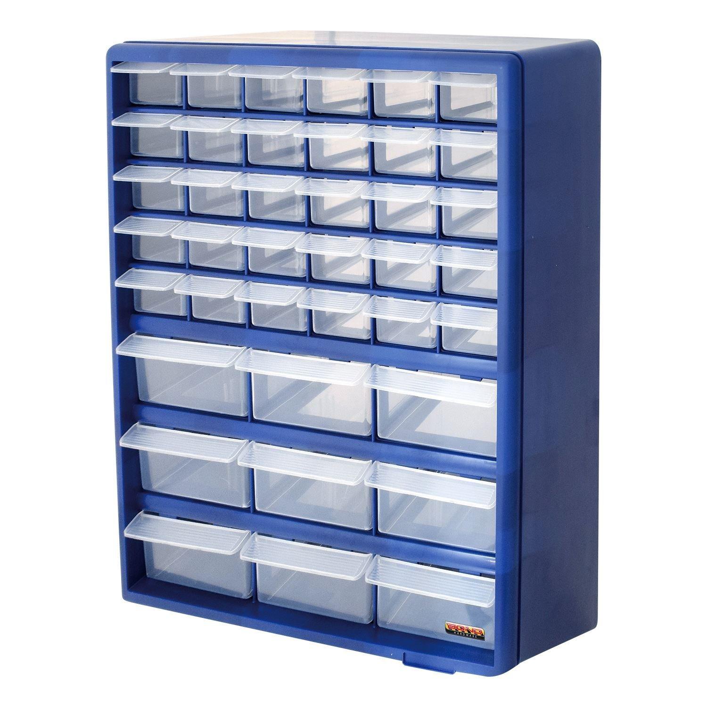 Bond Hardware 39 Drawer Blue Multi Tools DIY Storage Cabinet ...