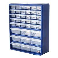 Bond Hardware 39tiroir Bleu Multi outils Armoire de rangement Organisateur DIY Boîte de Rangement Boulons écrous