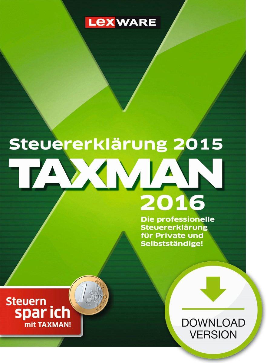 Cover des Buchs: TAXMAN 2016 (für Steuerjahr 2015)