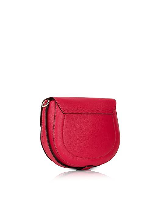 Amazon.com: Furla Womens 870577 Red Leather Shoulder Bag ...
