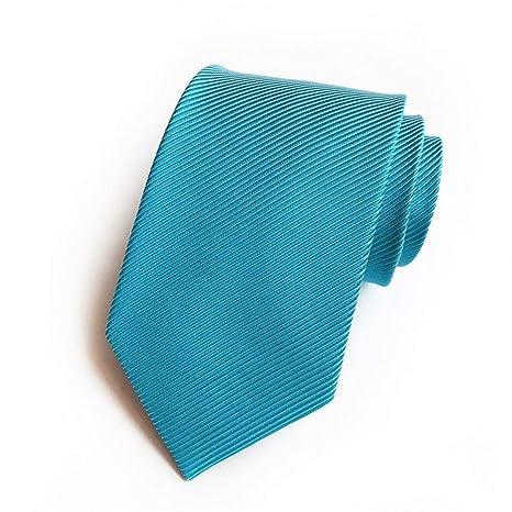 XJIUER corbata El Negocio para Hombres de 8 cm está Equipado con ...