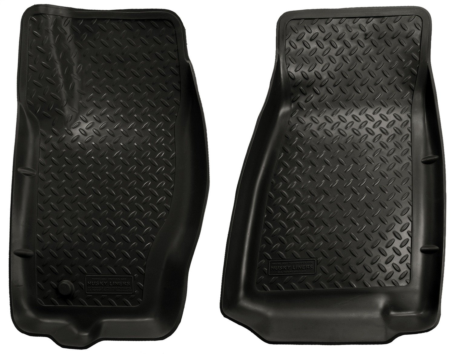 Husky Liners Front Floor Liners Fits 06-10 Commander 05-10 Grand Cherokee Winfield Consumer Products 30611