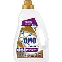 Omo Expert Laundry Liquid Detergent, Mixed Colour & Blacks, Colour Protect Technology, Front & Top Loader 1.8L