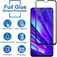Realme 5 Pro screen Protector Glass Full Glue Screen Guard Anti Explosion 2.5D for Realme 5 Pro by Nice.Store.UAE