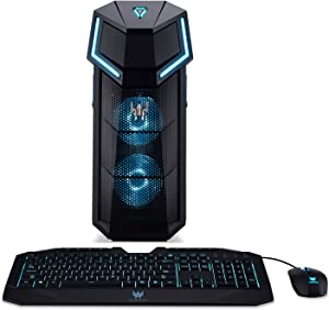 Acer Predator Orion 5000 PO5-100-UR11 Gaming Desktop, AMD Ryzen 7 2700X, GeForce GTX 1060, 16GB DDR4, 256GB PCIe NVMe SSD, 2TB HDD, Windows 10 Home