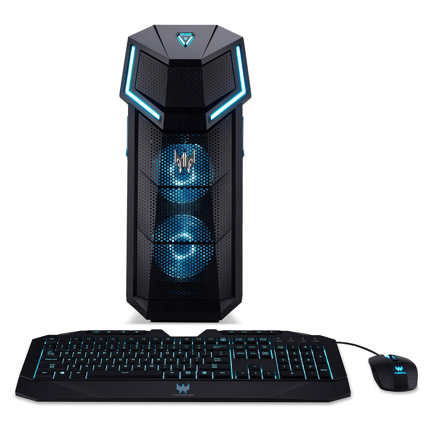 Acer Predator Orion 5000 PO5-610-UR11 Gaming Desktop,8th Gen Intel Core i5-8600K, GeForce GTX 1060, 16GB DDR4, 256GB PCIe NVMe SSD, Windows 10 Home