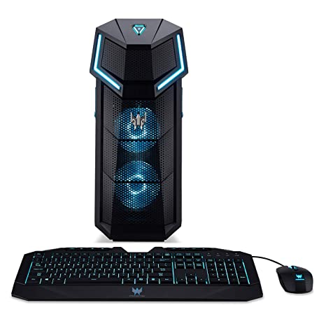 f09aa7419d6a1 Acer Predator Orion 5000 PO5-610-UR13 Gaming Desktop, 8th Gen Intel Core  i7-8700K, GeForce GTX 1070, 16GB DDR4, 512GB PCIe NVMe SSD, Windows 10 Home