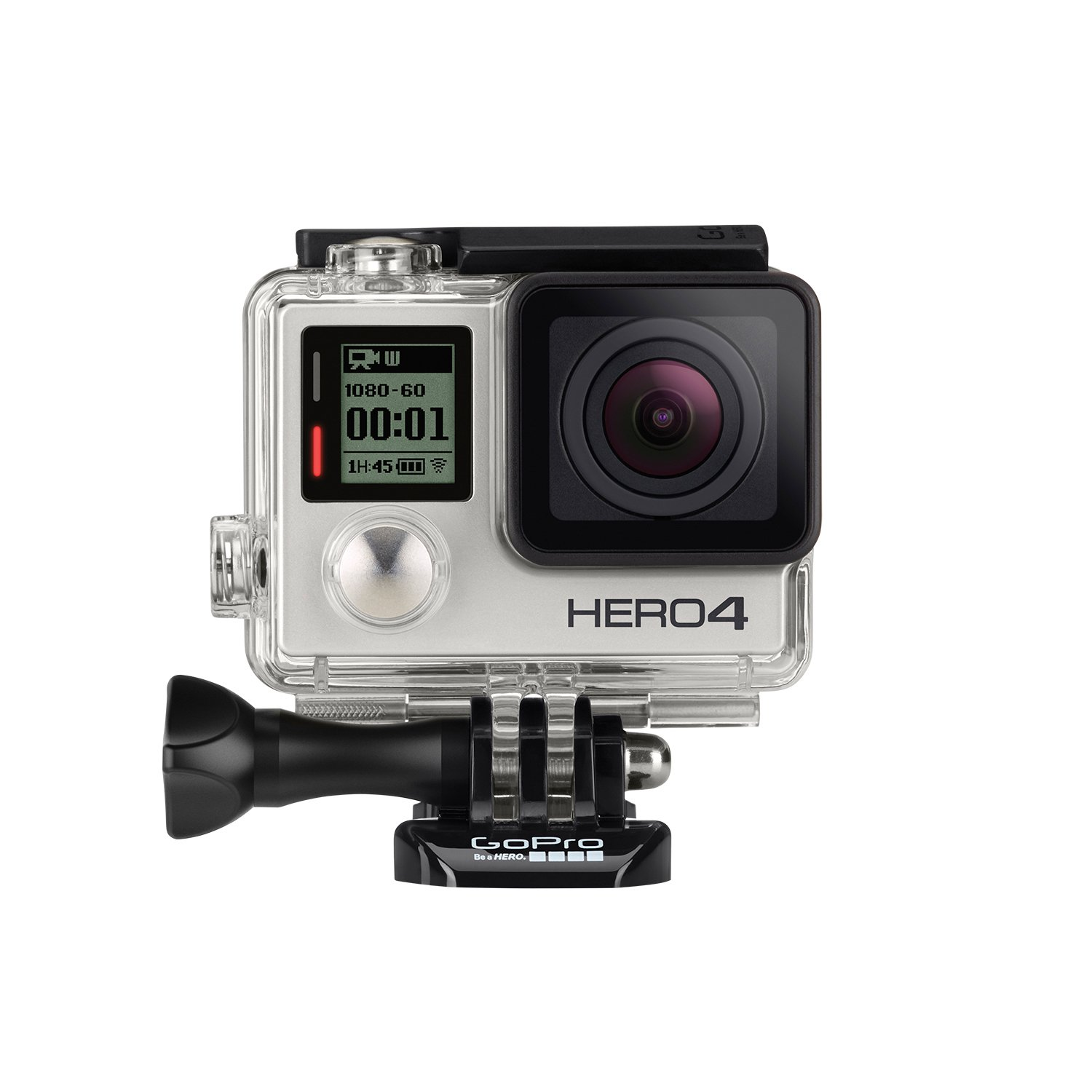 dc80d1d9 Amazon.com : GoPro HERO4 Silver : Camera & Photo