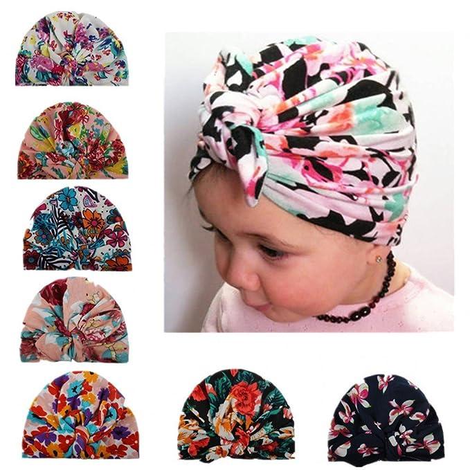 Newborn Baby Kids Girl Infant Knot Headband Elastic Headwear Turban Headwrap