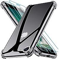 Joyguard Funda Compatible con iPhone SE 2020 con 2 Protector de Pantalla, Funda para iPhone 8 Funda para iPhone 7 Funda…