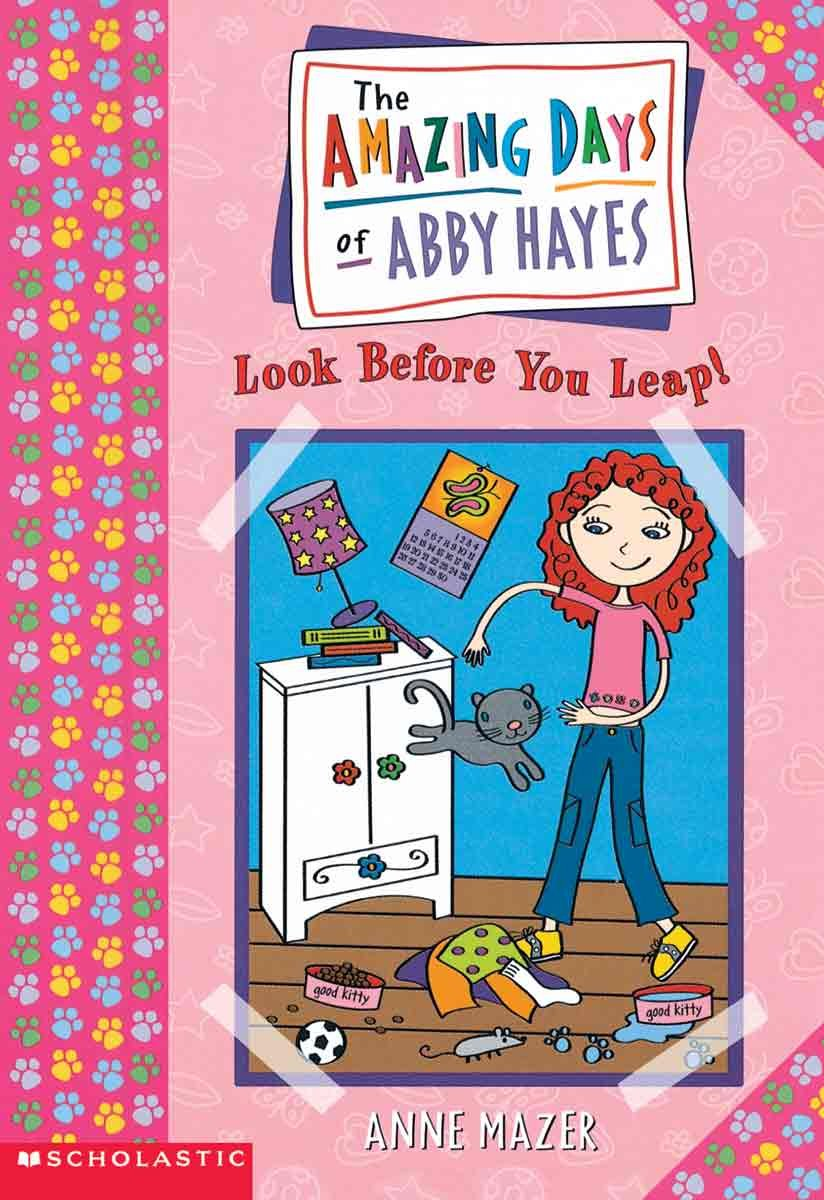 Look Before You Leap (Turtleback School & Library Binding Edition) (Amazing Days of Abby Hayes (Pb)) PDF