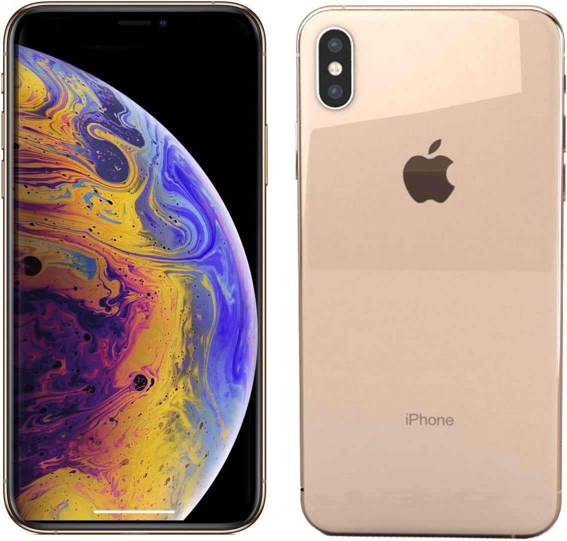 Apple iPhone Xs Max, 512GB, Gold - For AT&T (Renewed)