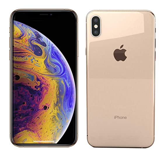 huge selection of 8b2d6 aaf54 Amazon.com: Apple iPhone Xs Max, AT&T, 512GB - Gold - (Renewed ...