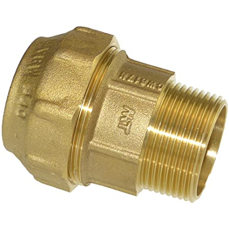 "DVGW-Zulassung 20-40mm PE auf IG 1//2/"" bis 1-1//2/"", PE-Winkel,Messing"