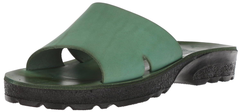 Jerusalem Sandals Women's Bashan Molded Footbed Slide Sandal B075KVGRHG 39 Medium EU (8-8.5 US)|Green