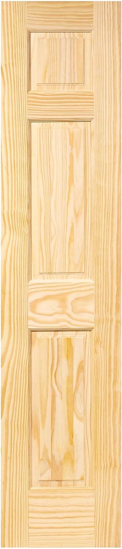 6-Panel Door Interior Slab, Solid Pine (80x18)
