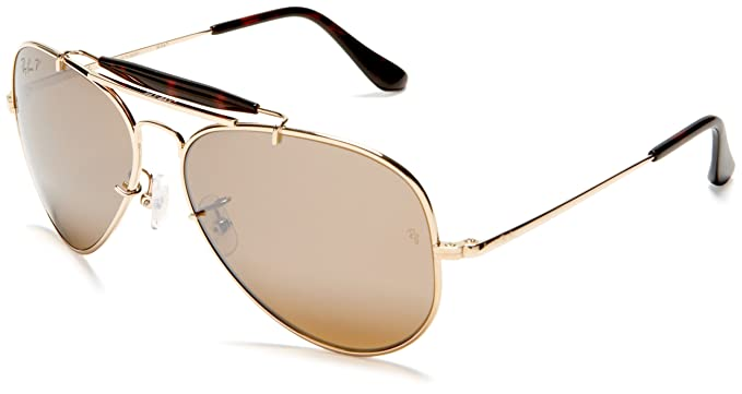 994ac4907b82d purchase ray ban folding aviator sunglasses 48768 bc0b0  wholesale ray ban  titanium woman sunglass gold frame polar brown lenses 58mm polarized 6006c  2ca47