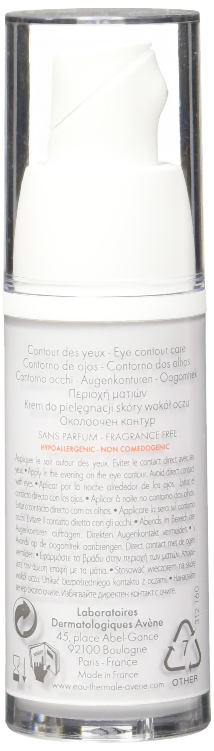 Eau Thermale Avène Physiolift Eyes Wrinkles, Puffiness, Dark Circles Cream, 0.5 fl. oz. by Eau Thermale Avène (Image #6)