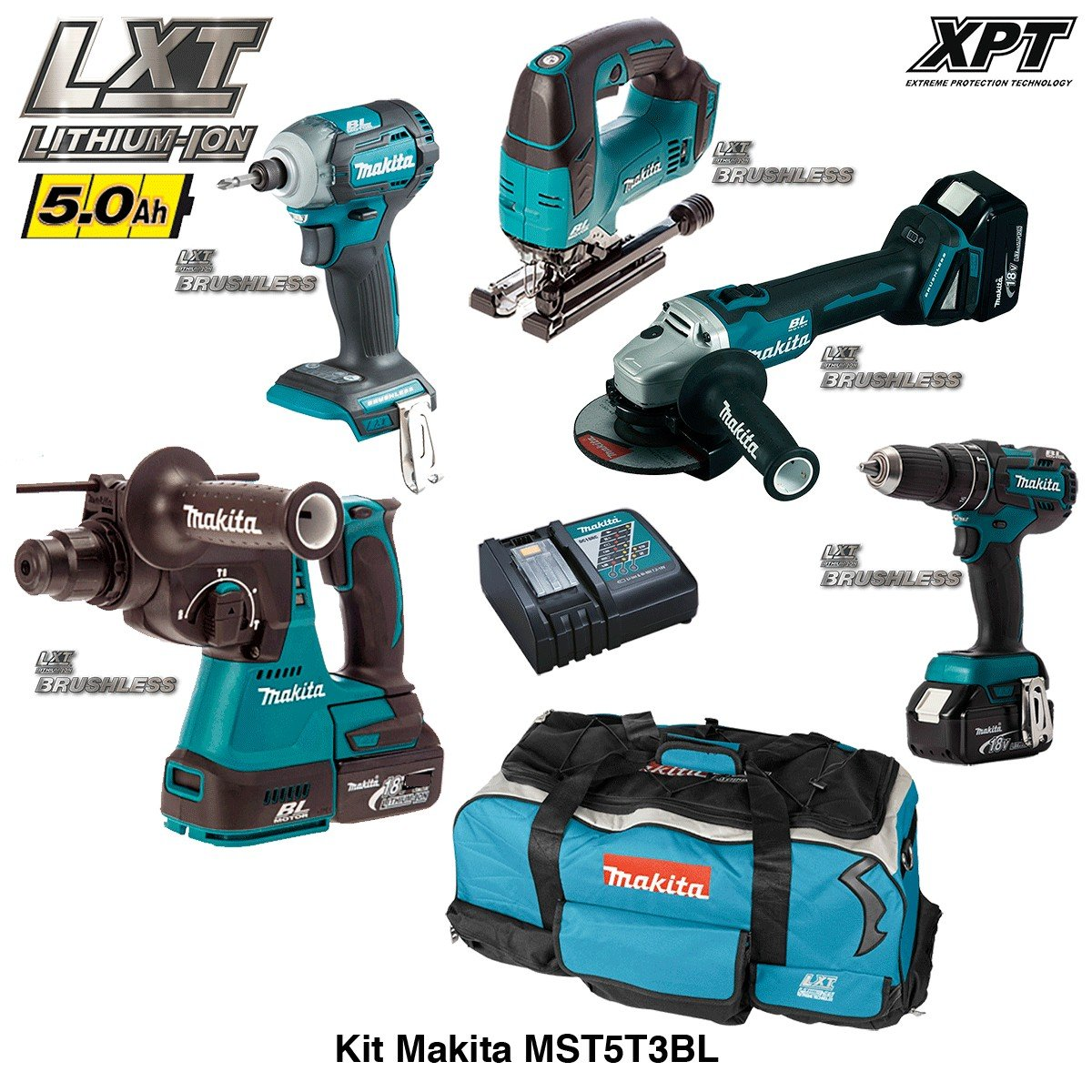 MAKITA Kit MST5T3BL