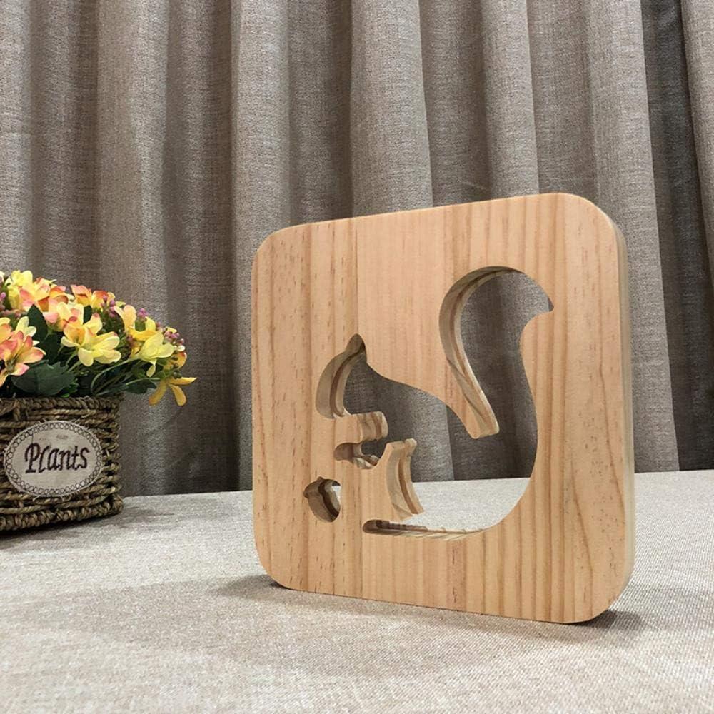 Eichh/örnchen Holz Handwerk Holzschnitzen Hohlnacht
