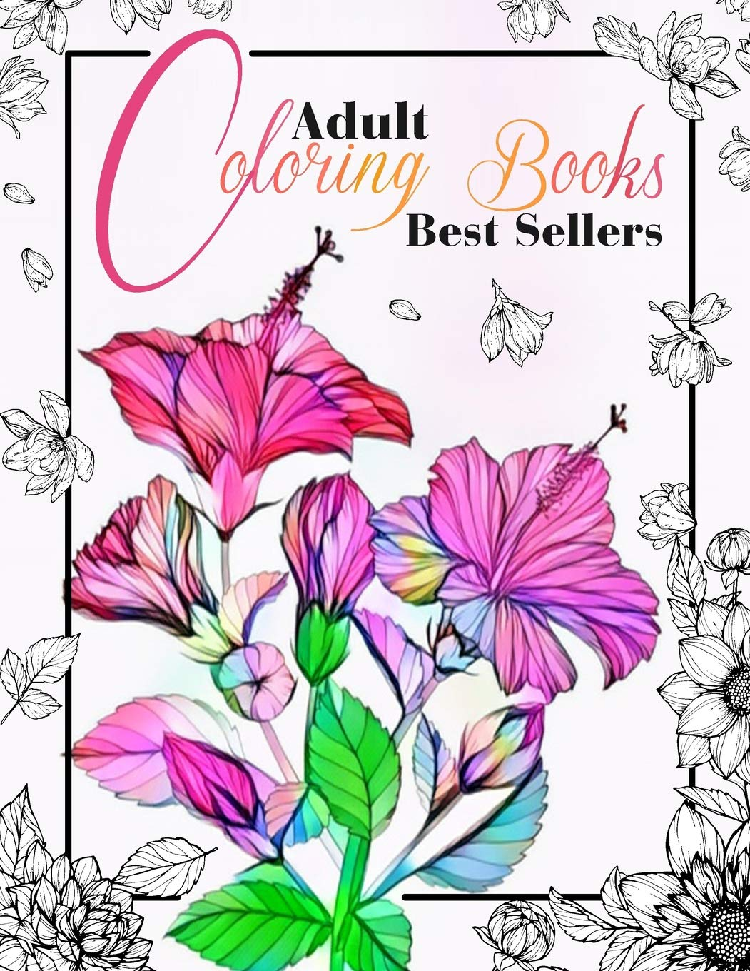 Amazon Com Adult Coloring Books Best Sellers Coloring Books For