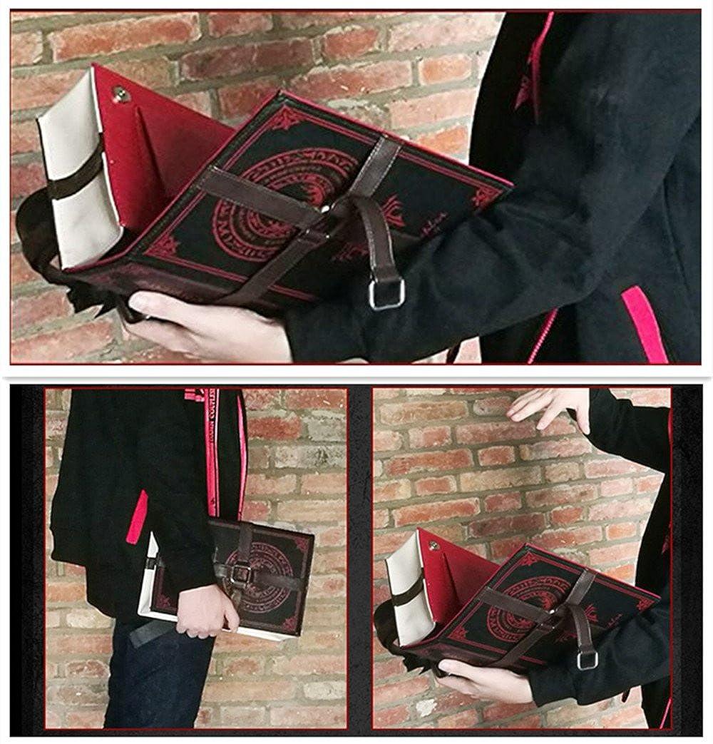 f0c180722cd8 Amazon.com: Cool Design Unisex Stylish Magic Book Shaped Bag Vintage ...
