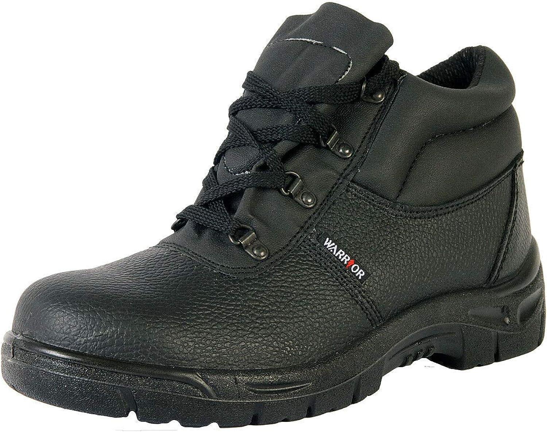 Warrior Mens Chukka Work Safety Boots