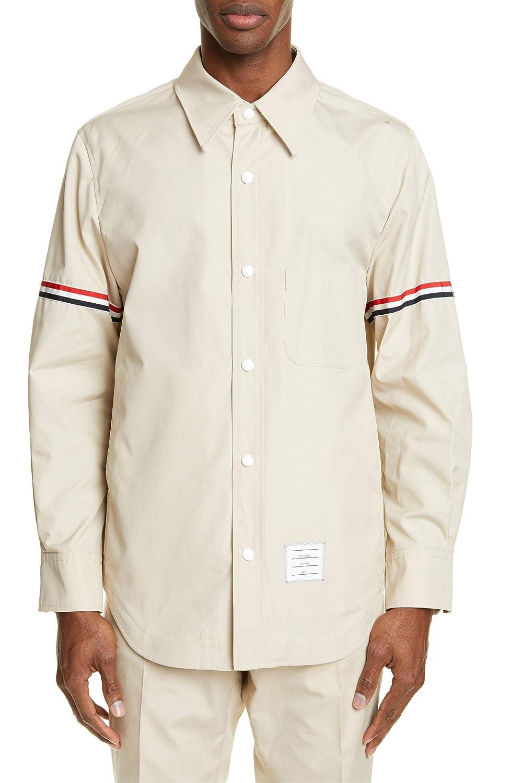 [トムブラウン] メンズ ジャケットブルゾン Blend Thom B07QCB5CFW Browne Jacket Wool Blend Shirt Jacket [並行輸入品] B07QCB5CFW 4, USキッズウェア:a2c65918 --- ero-shop-kupidon.ru