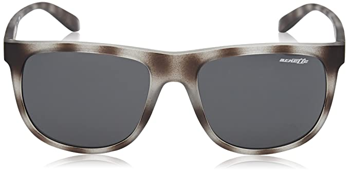 Mens 0AN4235 246287 Sunglasses, Matte Grey Havana/Grey, 56 Arnette