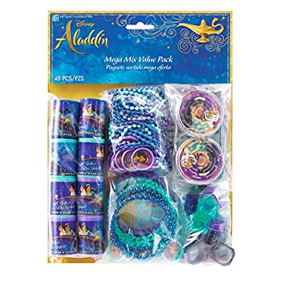 """Disney Aladdin"" Assorted Party Favors, 48 Ct.: Toys & Games"