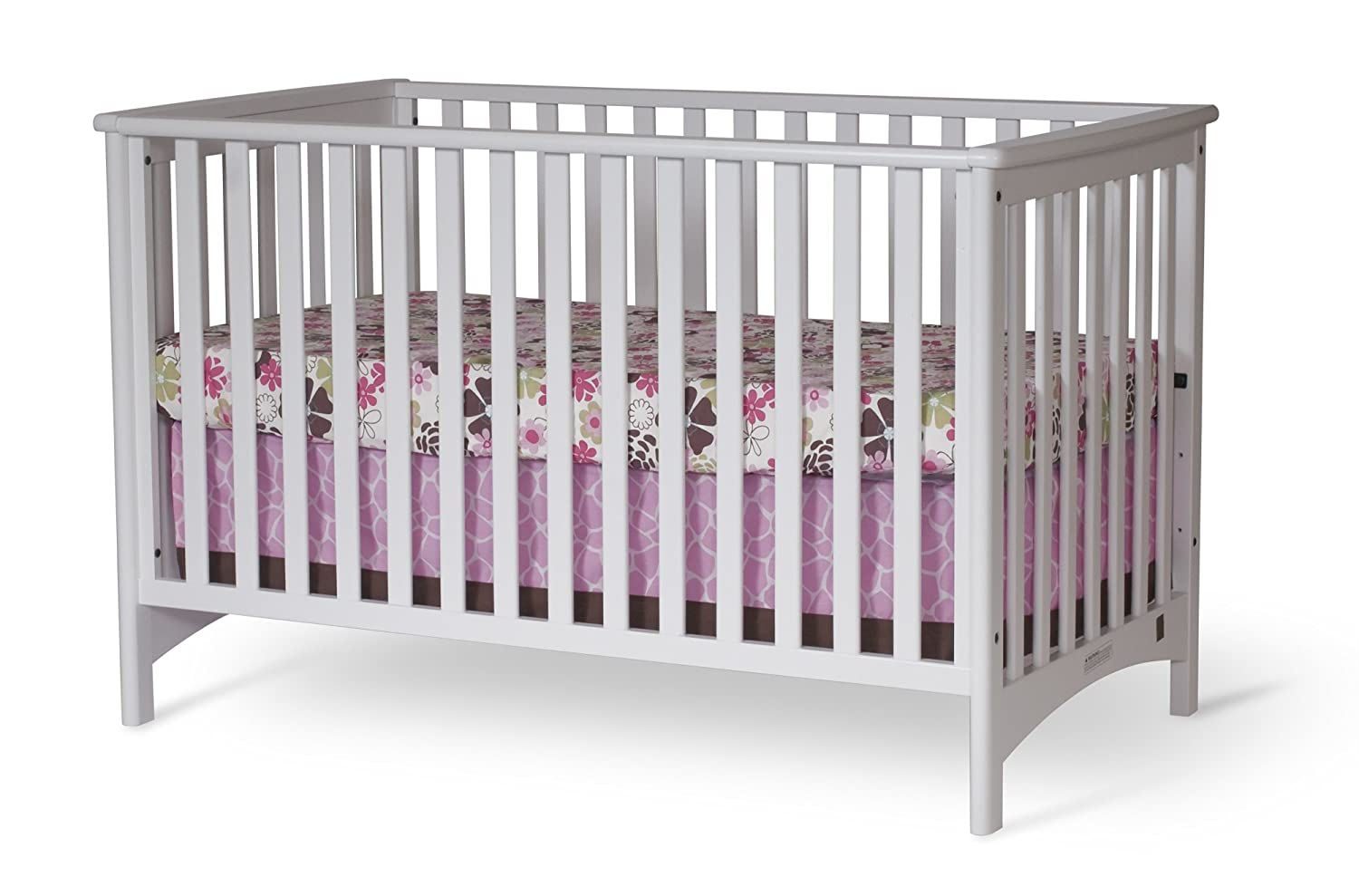 Amazon.com: Child Craft London Euro Style Stationary Crib, Matte White: Baby - Amazon.com: Child Craft London Euro Style Stationary Crib, Matte