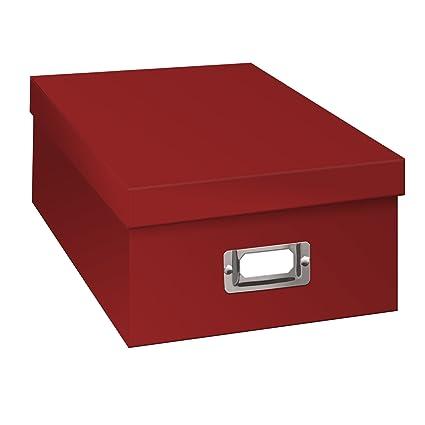 Pioneer Photo Albums Photo Storage Box   Bright Red