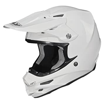 73-4009L - Fly Racing 2015 F2 Carbon Solid Motocross Helmet L White