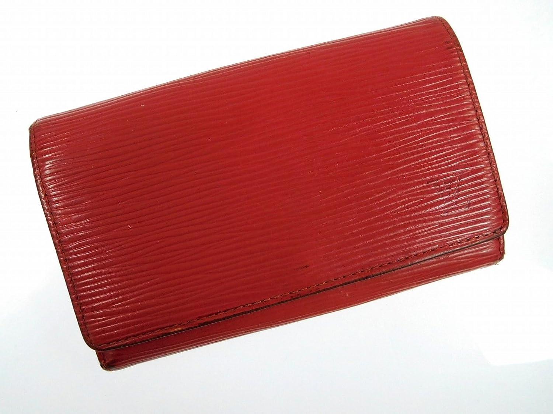 [ルイヴィトン] LOUIS VUITTON 二つ折り財布 エピ エピレザー X13291 中古 B01M69SYI9