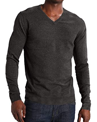 09607ebdb MODCHOK Men's Long Sleeve T Shirt Tee V Neck Tops Slim Fit Basic Sweatshirt  Henley