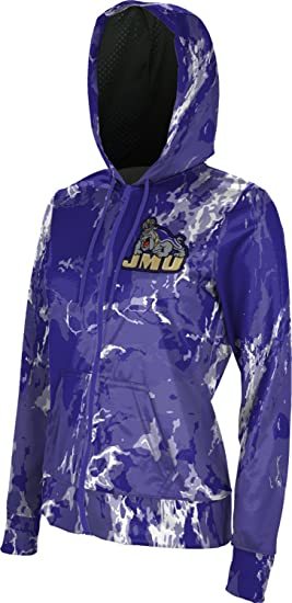 James Madison University Foundation Girls Pullover Hoodie Heather School Spirit Sweatshirt