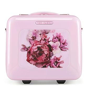 low priced 624d1 03ba2 Amazon.com : Ted Baker Women's Hardside Vanity Case (Splendor Pink ...