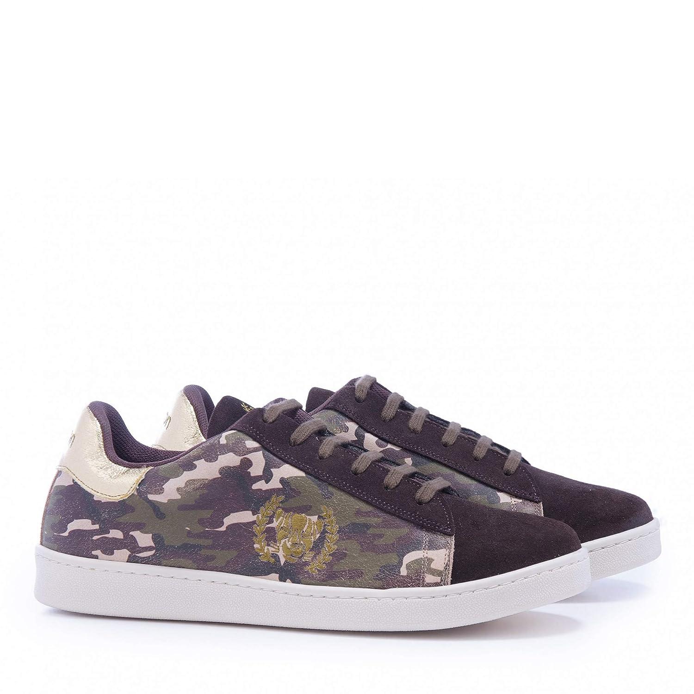 Xyon Revolution GREENFOREST Sneakers Zapatilla Deportiva con Cordones Hombre: Amazon.es: Zapatos y complementos