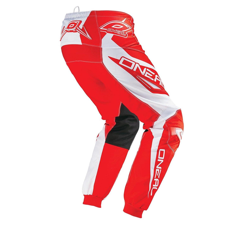 ONeal Element Youth MX DH Enfant Pantalon de VTT Longue RACEWEAR Rouge//Blanc 2016