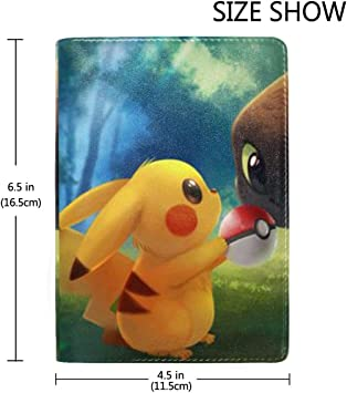 pikachu passport cover case holder