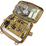 WYNEX Tactical Admin Molle Pouch, Medical EDC EMT Utility Bag Shell Design Attachment Pouches 1000D Nylon Hiking Belt…