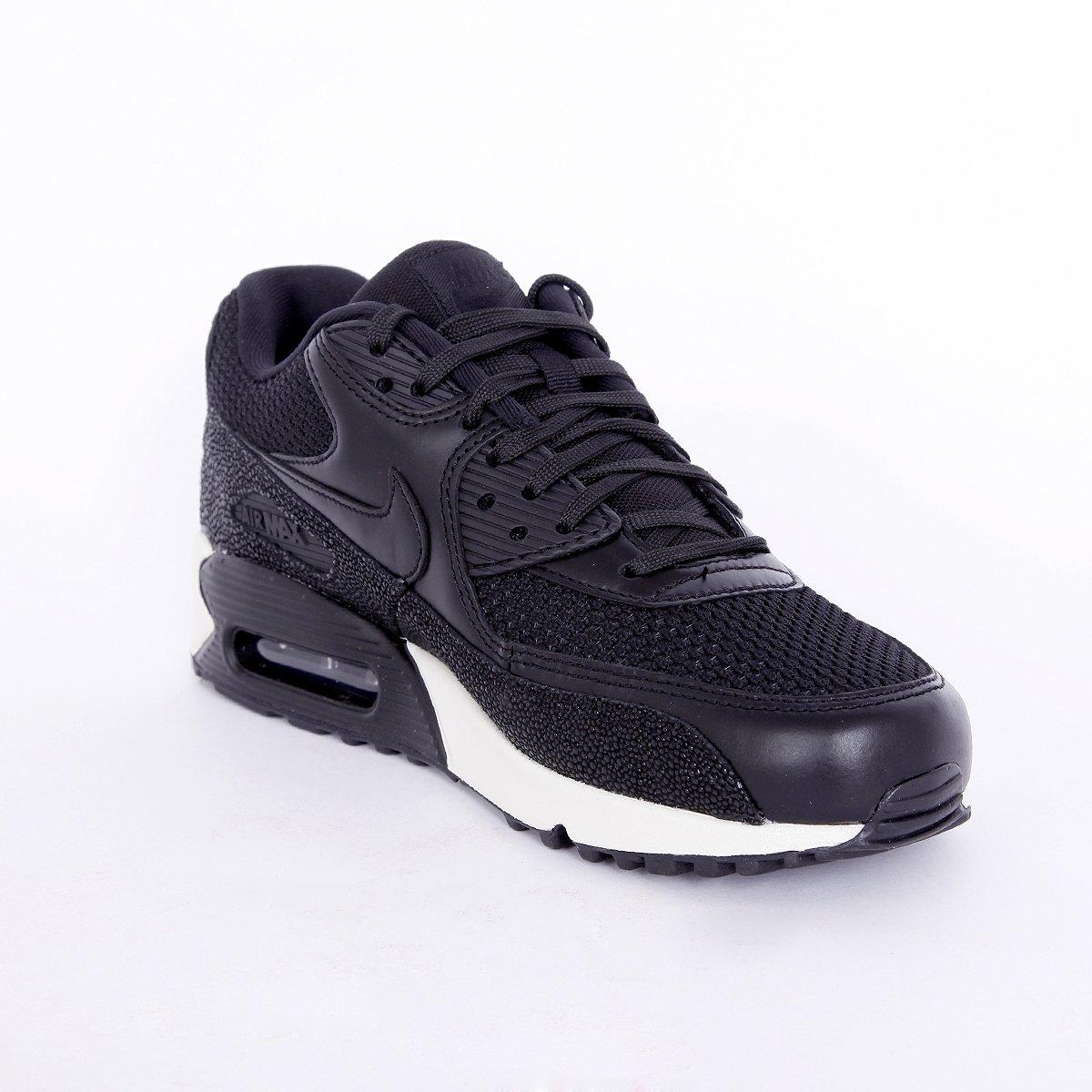 Nike Air Max 90, Sneaker Uomo, Nero (Black Black Sea Glass