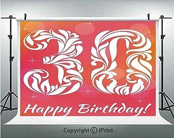 30 cumpleaños decoraciones fondo de fotografía 30 años ...